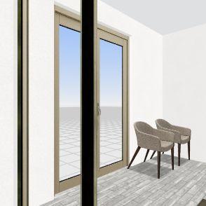 Sala 52 - novo design Interior Design Render