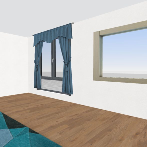 Beach room Interior Design Render