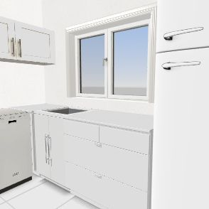 kuhinja Interior Design Render