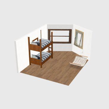 Camera Copii Interior Design Render