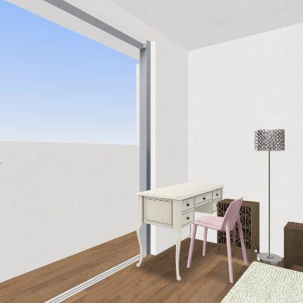 plan for 107.7 Interior Design Render
