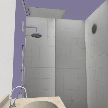 дом-баня 1 этаж Interior Design Render