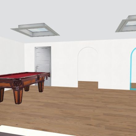 lodge Interior Design Render
