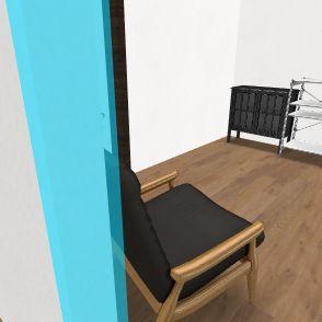 stan sadasnji Interior Design Render
