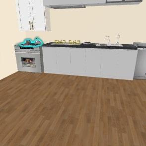Woodworking house  Interior Design Render