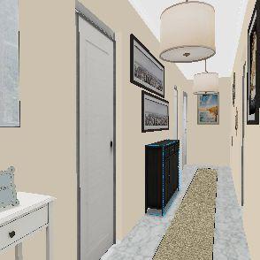 Piso Cenes decorado cocina 2 Interior Design Render