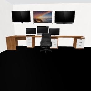 FUTURE BASEMENT  Interior Design Render