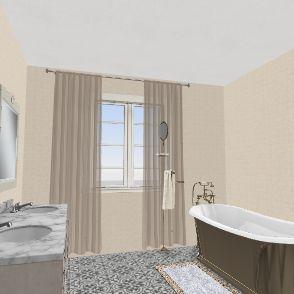 баня Interior Design Render