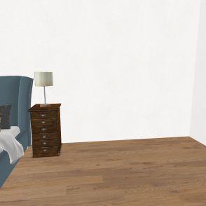 Voglis bedroom design (technology 2019-2020) Interior Design Render