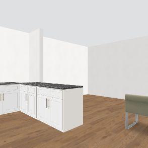 Current house remod Interior Design Render
