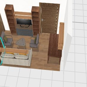 bunker Interior Design Render