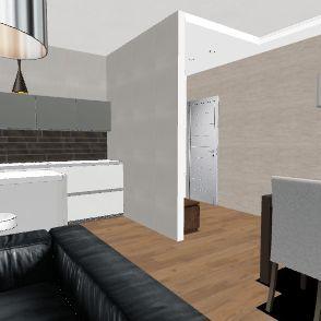 Loredana_Antonio_openspace Interior Design Render