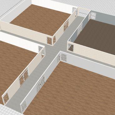 strip mallll Interior Design Render