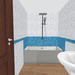 Waleed Bath Room New Design Interior Design Render