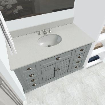 Ronald Bathroom Interior Design Render