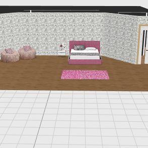 sharpays room  Interior Design Render